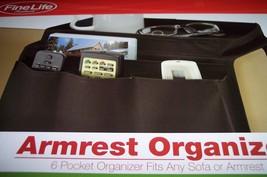 FineLife Armrest Organizer; Black; 6 Pocket Org... - $2.50