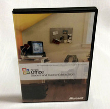 used Microsoft Office 2003 Student and Teacher Edition for Windows XP & ... - $7.82