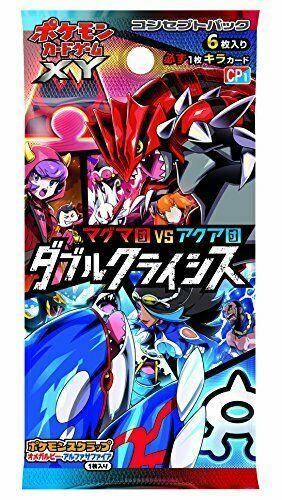 Pokemon card game XY concept pack magma team VS Aqua Orchestra double crisis BOX