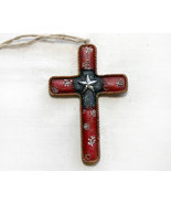 Southwestern Star Cross Christmas Ornament Decor  - $5.95