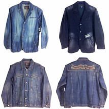 LE JEANS MARITHE FRANCOIS GIRBAUD, MEN'S DENIM JACKET, - $98.00+
