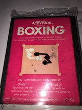 Boxing AG-002 (1980) Activision - Atari 2600 - Video Game Cartridge - $15.52