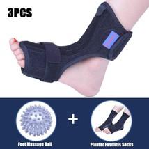 Plantar Fasciitis Dorsal Night Splint For Heel Pain Relief Foot Drop Ort... - $28.69