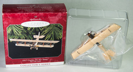 Hallmark 1998 Ornament 1917 Curtiss JN-4D Jenny Airplane #2 Sky's Limit Mint - $14.99
