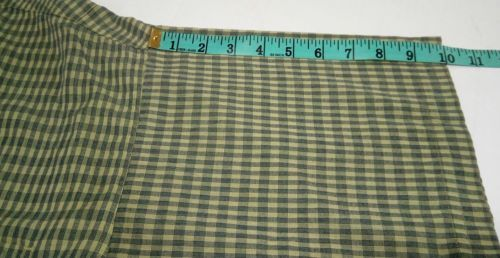 Patagonia Men's Green L short-sleeve button-down checkered Breast Pocket shirt image 6