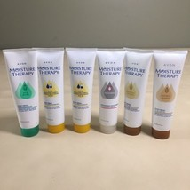 Mixed Lot of 6 Avon Moisture Therapy Hand Creams 4.2 Oz NEW NOS  - $29.69