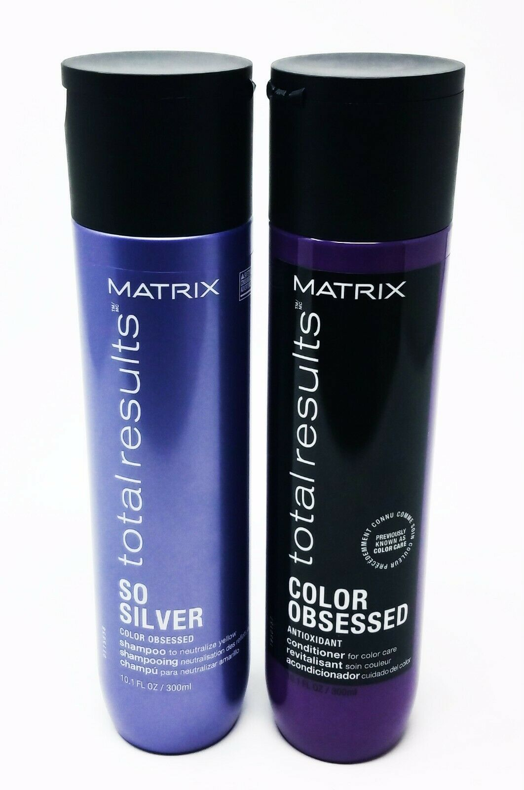 Primary image for Matrix Total Results Color Obsessed So Silver Shampoo and Conditioner 10.1 fl oz