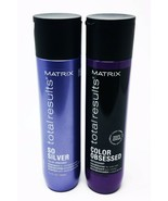 Matrix Total Results Color Obsessed So Silver Shampoo and Conditioner 10... - $47.99