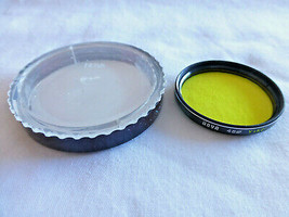 Hoya 48mm Y (K2) Yellow 8 Glass Filter Made In Japan Bin #1411 48 Used - $13.98
