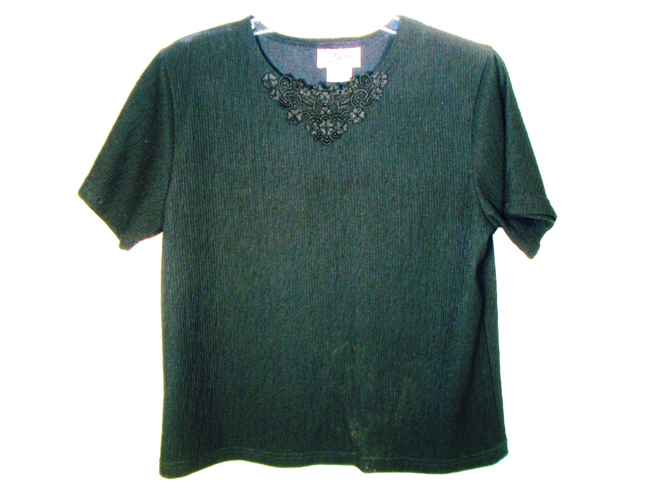 WOMEN VALERIE CAREER DRESS BLACK TOP SHIRT PET MEDIUM