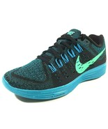Nike Womens Shoes Lunartempo Running 705462 004 Mesh Black Menta Sz 6.5 - $79.99