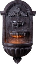 Patio Wall Fountain With Lighted Nighttime Ambi... - $235.99