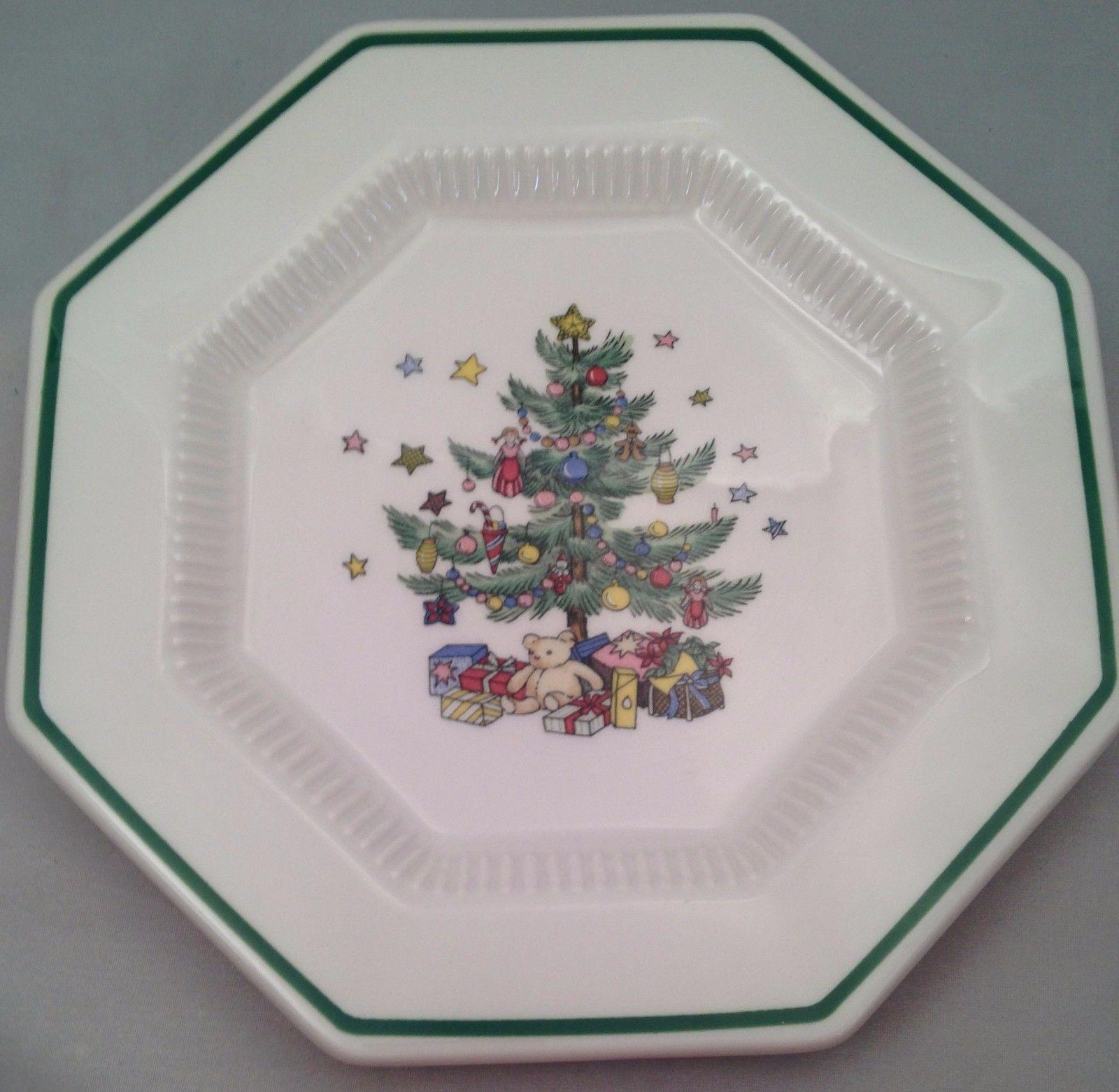 Nikko Christmastime Set of 4 Dessert Plates and 10 similar items