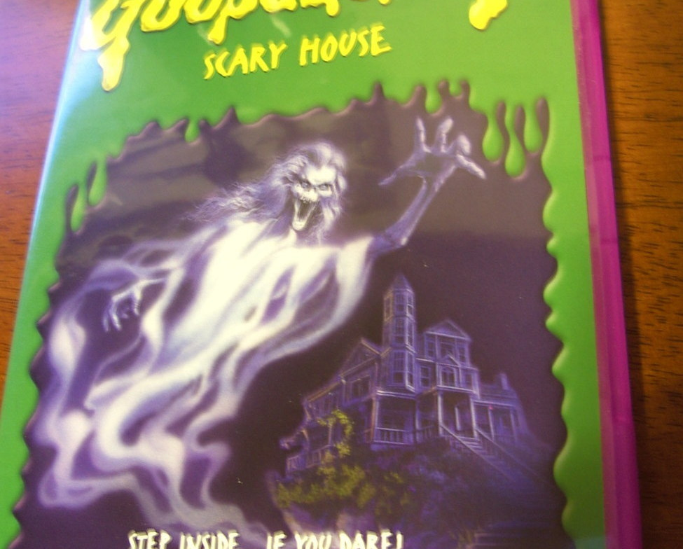RARE Goosebumps - Scary House DVD 2005 LN! Free Ship! Happy Halloween Movie Fun!