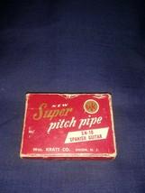 Super Pitch Pipe SN-10 For Spanish Guitar WM Kratt Co Vintage - $14.84