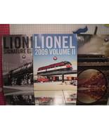 Toy Train Catalogs (3) Lionel Trains - 2009 Signature, Vol II, 2011 Vol II - $10.80