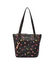 New Fossil Women Gifting Printed Leather Small Shopper Tote Bag Variety ... - $118.79