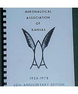 Women Aeronautical Assoc Kansas 1928-1977 History Aviation Industry Cook... - $19.67