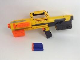 Hasbro Nerf N-Strike Deploy CS-6 Foldable Compact Dart Gun w/ Darts & Clip - £23.21 GBP
