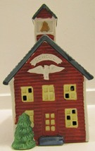 SANTA'S BEST Christmas Village School House - $15.00