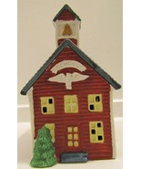 SANTA'S BEST Christmas Village School House - $15.00