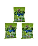 3 x Heartbeat Lime Soda Sherbet Sour Candy 100 Tablets 300g - $34.64