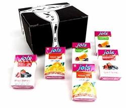 Jols Sugar Free Pastilles 3-Flavor Variety: Two 0.88 oz Packets Each of Orange,