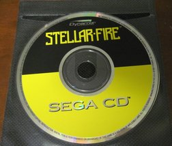Sega CD Stellar Fire game - also works great as a Outer Space Soundtrack... - $23.39
