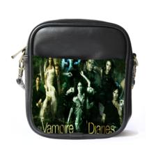Sling Bag Leather Shoulder Bag The Vampire Diaries Beautiful American Supernatur - $14.00