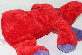 Mary Meyer FLIP FLOPS RED AND PURPLE Floppy DOG STUFFED PLUSH Animal SOFT TOY image 4