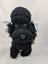 "Dakin Nature Babies Black Poodle Dog Mitzi Plush 8.5"" 1983 Stuffed Animal - $15.38"