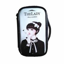 Fashion Waterproof Travel Makeup Case Cosmetic Bag Sundry/Toiletry, Bow Girl