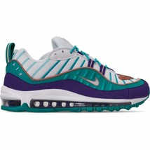 Men's Nike Air Max 98 Casual Shoes Court Purple/Terra Blush/Spirit Teal ... - $181.70