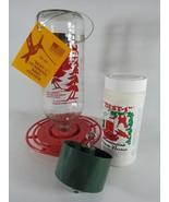 Original Best-1 Hummingbird KIT 32 oz glass Feeder Instant Nectar & Trap-It - $31.99