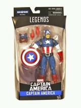 "Captain America Civil War Marvel LegendsCAPTAIN AMERICA6"" Figure - $24.74"