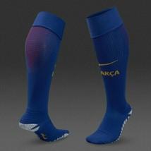 New NIKE Grip STRIKE Light Weight OTC Football BARCA Socks sz:10-11.5 SX7155-455 image 2