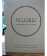 SCRABBLE LINEN BOOK EDITION BOARD GAME - BRAND NEW - $43.00