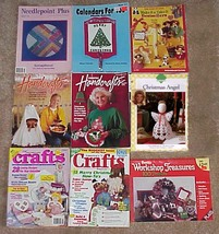CRAFT MAGAZINE LOT - Needlepoint-Canvas-Crochet-More - 1990's - $12.00