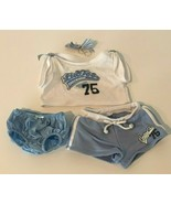 Build A Bear Workshop BABW Clothes Outfit Limited Too Cheerleader Cheer ... - $12.99