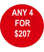 FRI-SUN PICK ANY 4 FOR $207  BEST OFFERS DEAL M... - $0.00