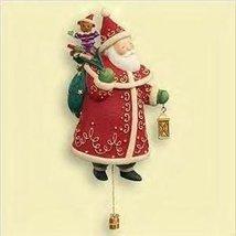 2006 Hallmark Keepsake Christmas Ornament SANTA #1 in series Yuletide Tr... - $4.82