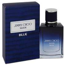Jimmy Choo Man Blue by Jimmy Choo Eau De Toilette Spray 1 oz (Men) - $32.66