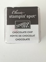Stampin Up Classic Stampin Spot Chocolate Chip Ink Pad Brown for Stamping Crafts - $4.00