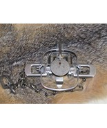 1 Duke #1 Coil Spring Traps Raccoon Mink Nutria Muskrat  Trapping 0469 N... - $12.23