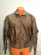SUMMER AIR FORCE FLYERS COAT JACKET CWU-36/P LARGE  ITEM# B7 - $79.15