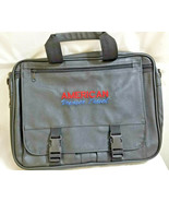 American Voyager Travel Expanding Case Organizer New Black Fabric - $29.95