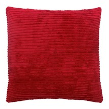 """RED CHENILLE CORD 18"""" SOFT CUSHION COVER - $7.51"""