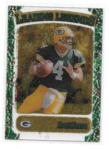 1998 Topps Stadium Club Brett Favre Leading Legends Insert Card - $4.95