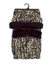 Lush Snow Leopard 3-Piece gloves scarf Hat Faux Fur Winter Set WSET91 - $18.89