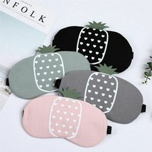 Sleeping Eye Mask Patch Soft Sleep Pineapple Travel Relaxing Blindfold Gel Relax